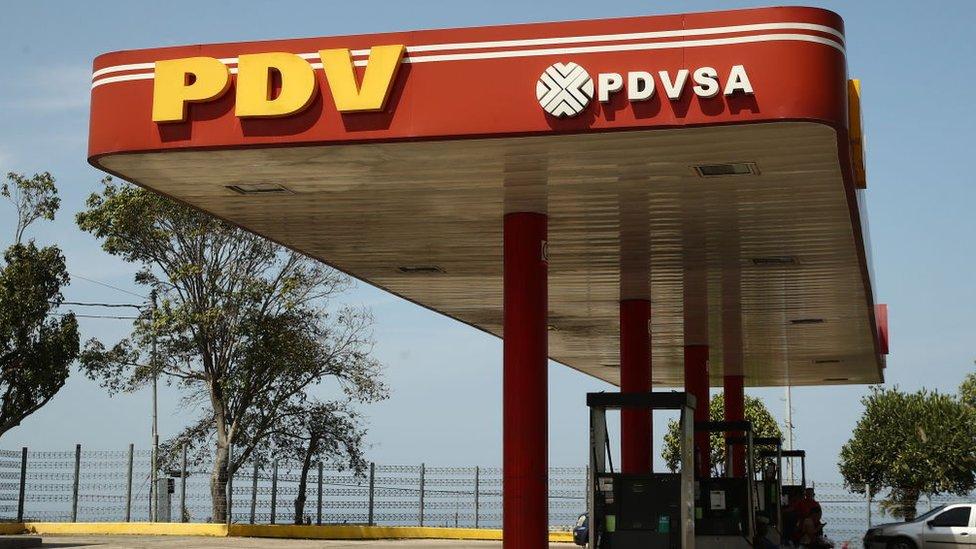 Estación de PDVSA NO USAR / BBC