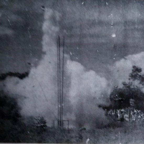 El cohete casero de Ricardo Galindo