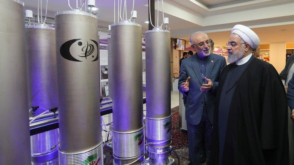 قالت وكالة الطاقة النووية الإيرانية إنها ضاعفت بمقدار أربعة أمثال انتاجها من اليورانيوم المخصب