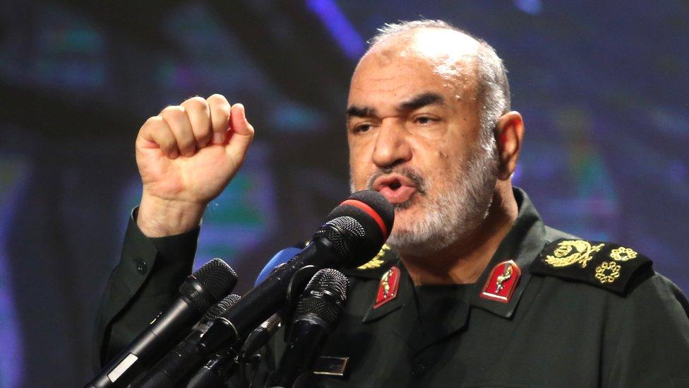 Maj-Gen Hossein Salami