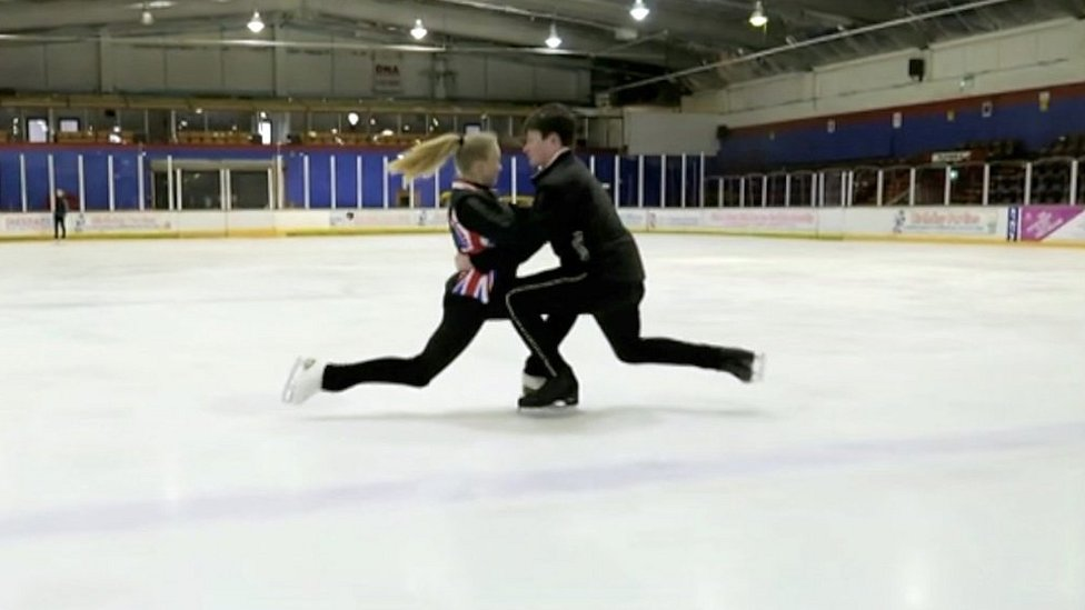 Figure skating teens the next Torvill and Dean?