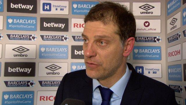 West Ham manager Slavan Bilic