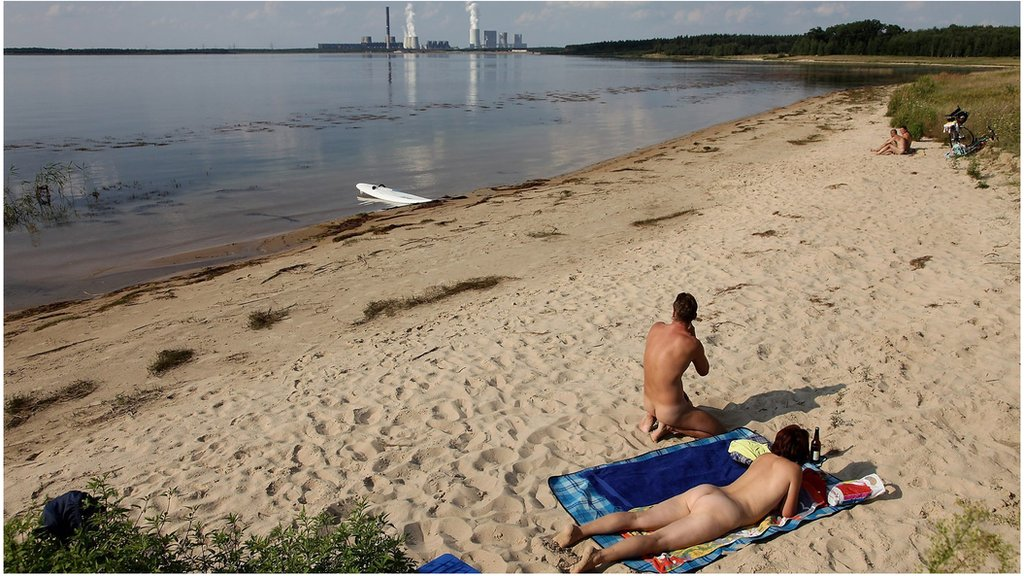 東德裸體海灘