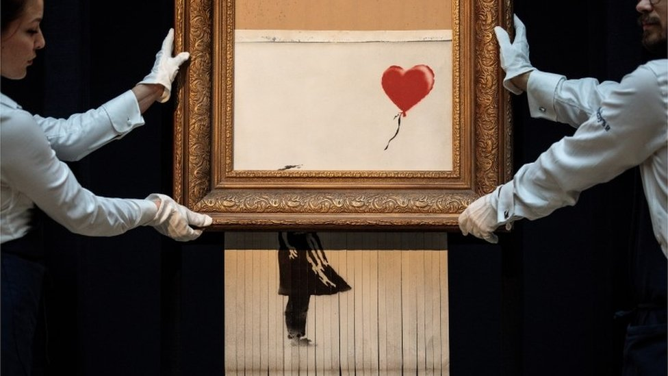 Shredding Banksy: Can his fans do it better?