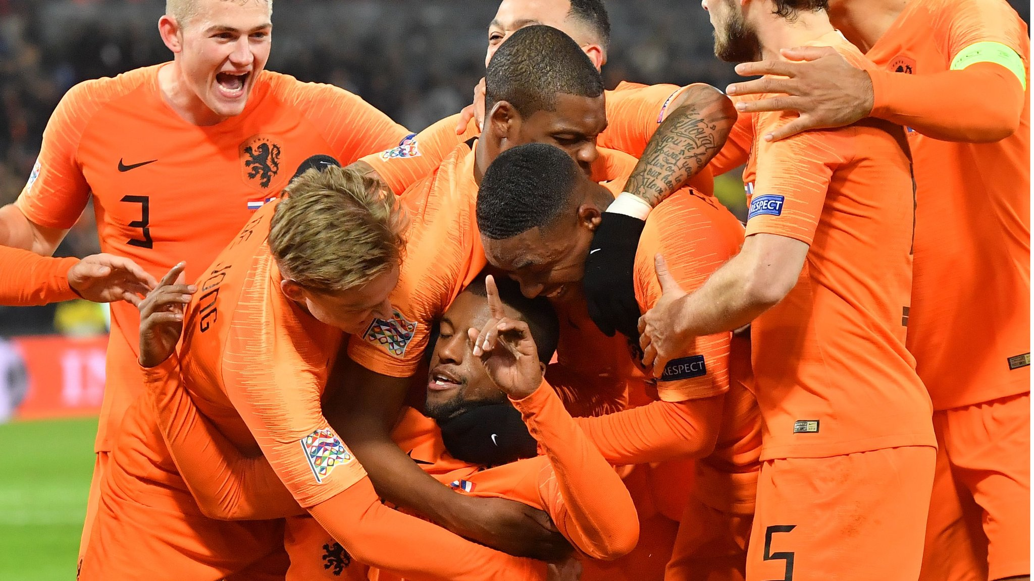 Netherlands 2-0 France: Dutch beat world champions to relegate Germany