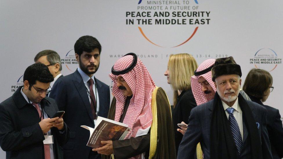 تشير تقارير إلى أن مؤتمر وارسو يهدف لإقامة تحالف عربي إسرائيلي ضد إيران