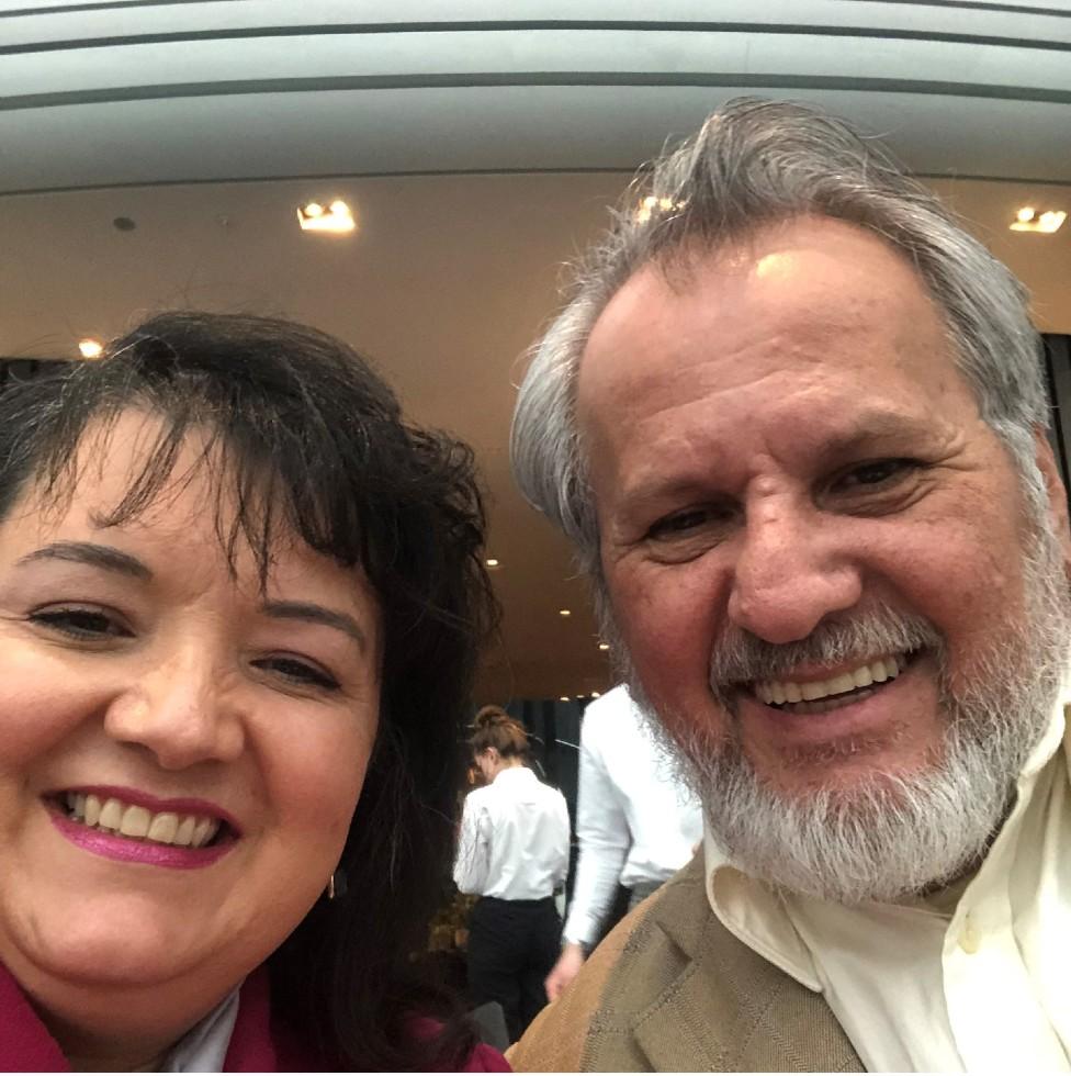 Elizabeth y Fernando Jiménez