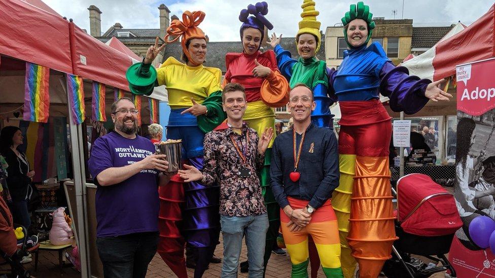 Northampton Pride brings 'buzz' to town