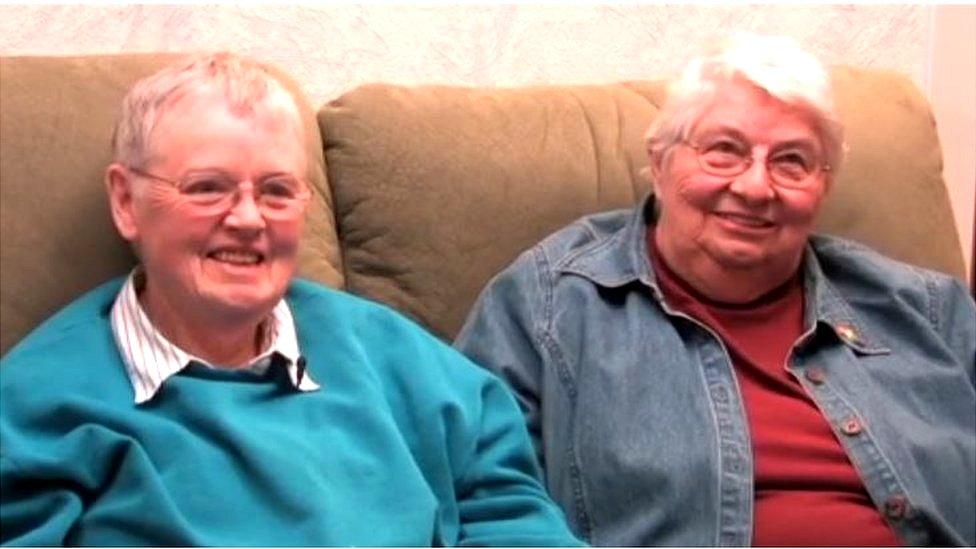 Bridget y Chris, diciembre 2009