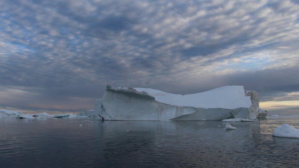 Fjord Ilulisat na Grenlandu