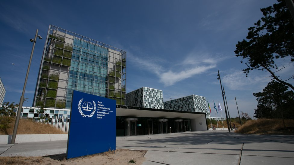 View of the International Criminal Court at The Hague (20 July 2018)