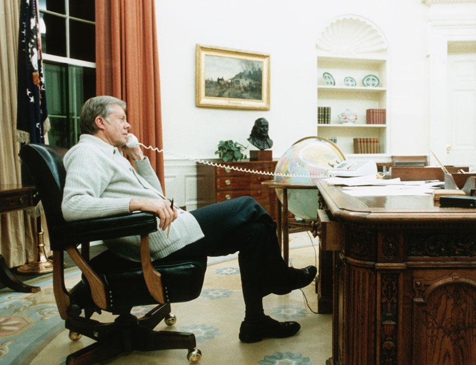 Džimi Karter u Ovalnoj sobi