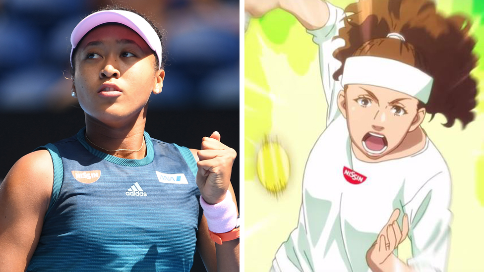Naomi Osaka: Noodle company apologises for 'white-washing'