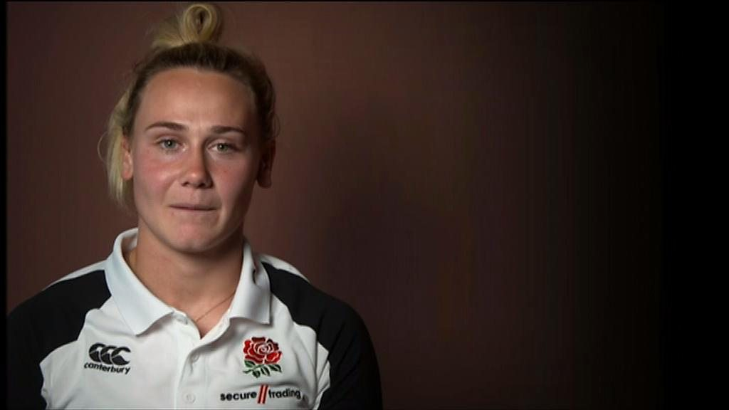 Megan Jones: The Welsh speaker who plays for England