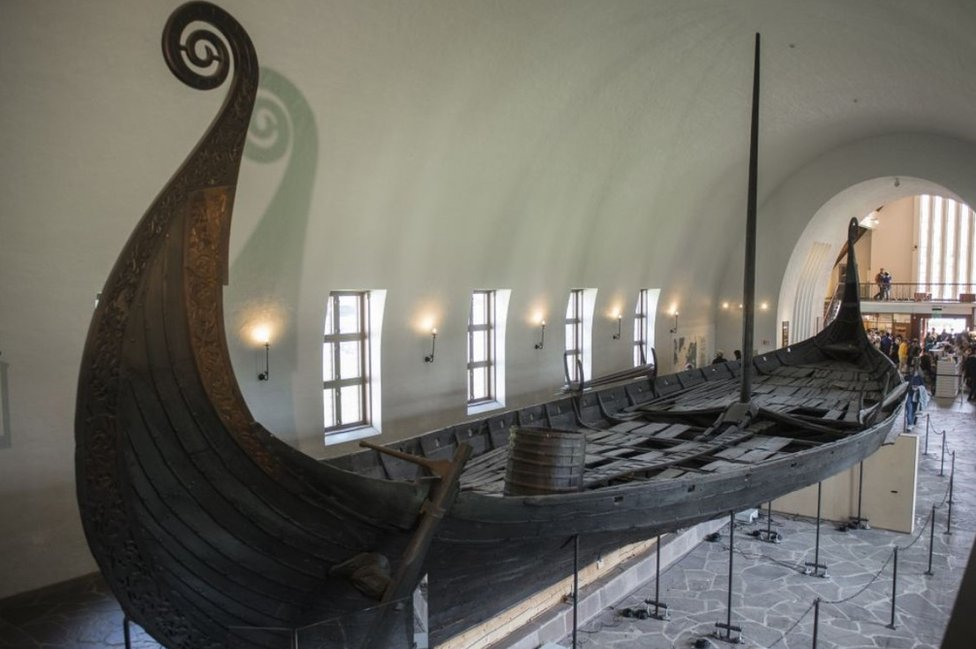 Norway excavates a Viking longship fit for a king - BBC News
