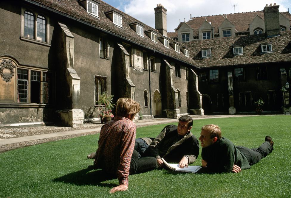 Corpus Christi College Cambridge Old Court (1967)