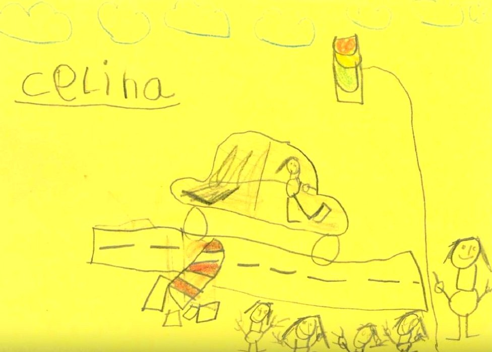 Six-year-olds sketch rogue driver for German police thumbnail