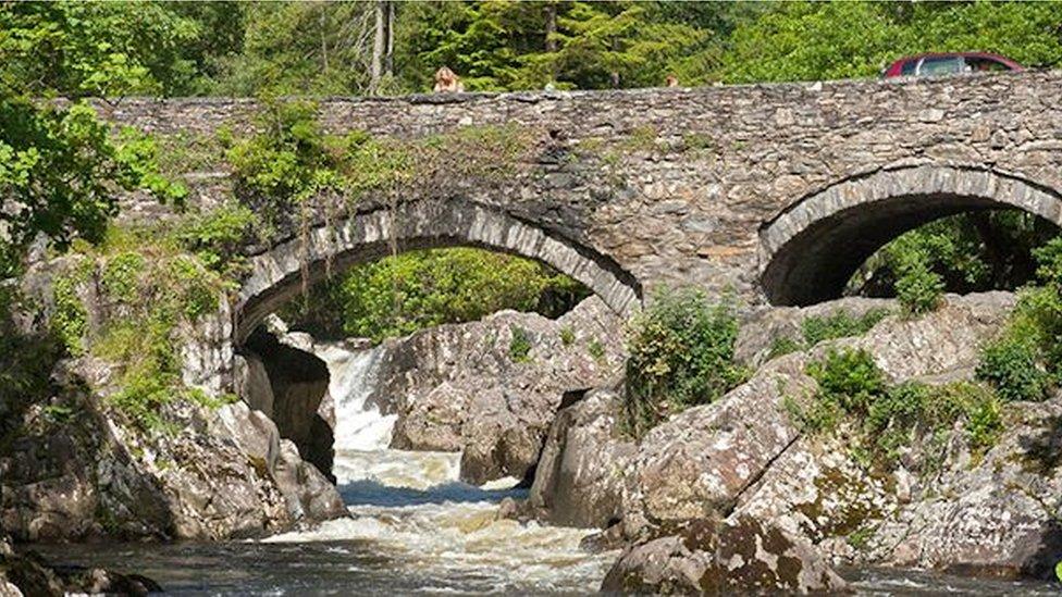 Pont y Pair, Betws y Coed