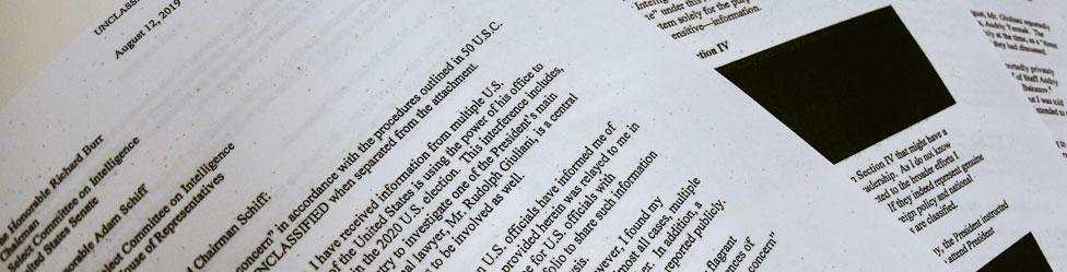 The whistleblower complaint