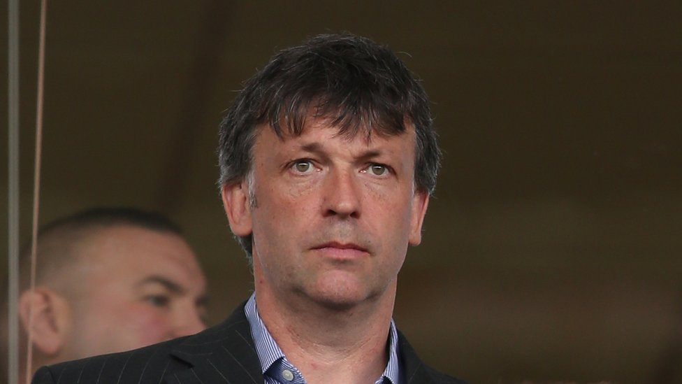 Ex-Blackpool chairman Karl Oyston sues father Owen's club