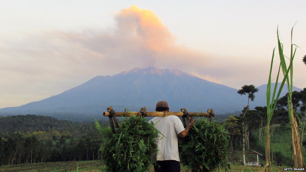 Mount Raung Indonesia