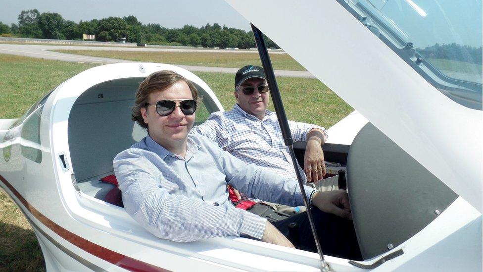 Carlos Oliveira and Joao Paulo Girbal, Skyuber founders
