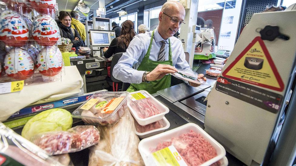 Supermercado belga