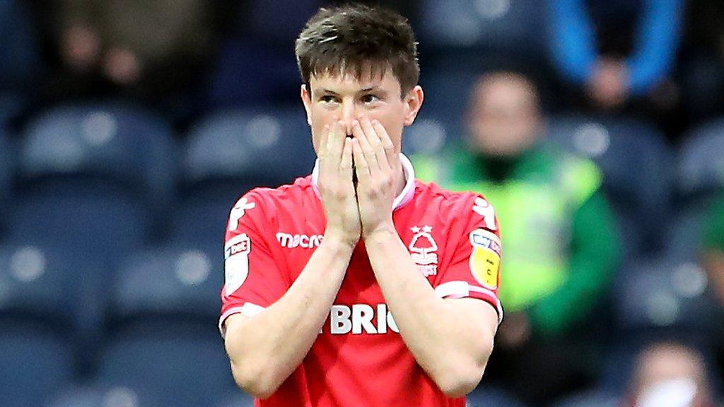 Preston North End 0-0 Nottingham Forest: Joe Lolley goal disallowed in scoreless draw