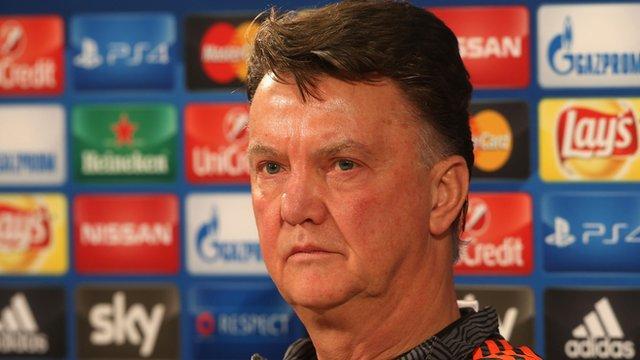 Champions League: Van Gaal promises Man Utd must-win approach