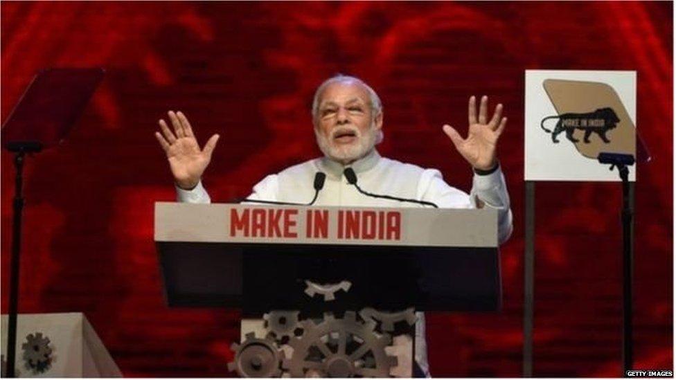 नरेंद्र मोदी, भारतीय प्रधानमंत्री