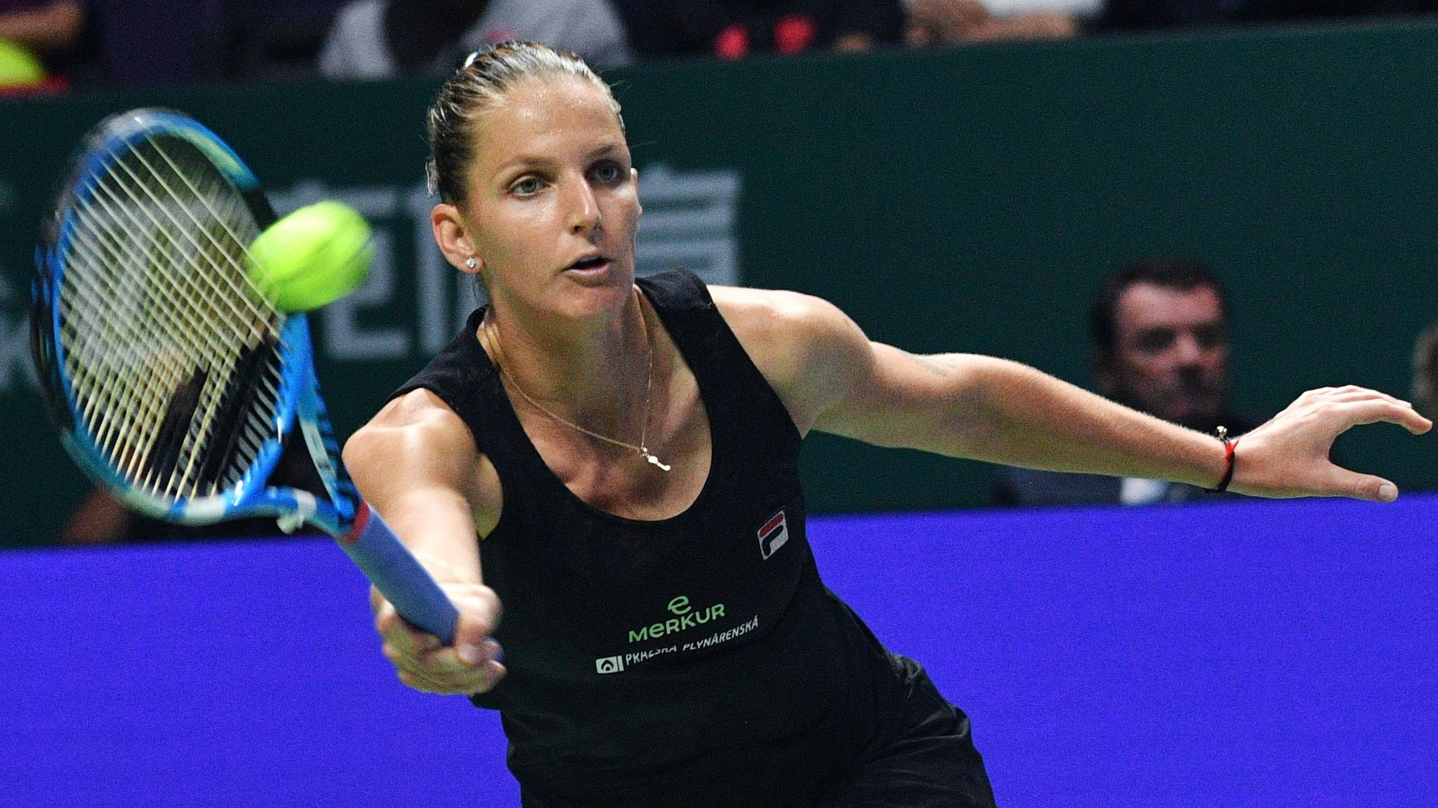Pliskova beats defending champion Wozniacki at WTA Finals