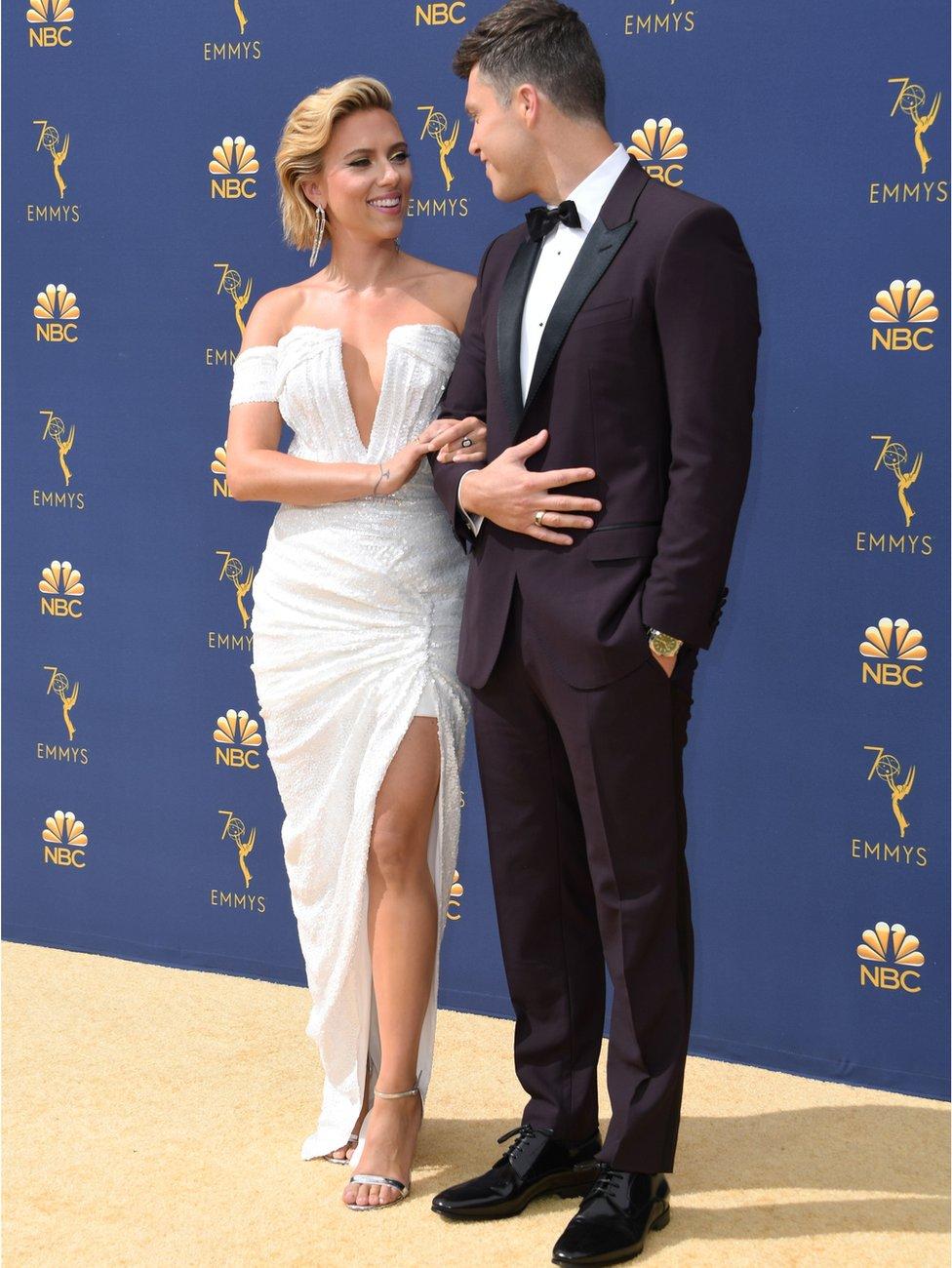 Skarlet Džonson sa partnerom i zvezdom Kolinom Jostom