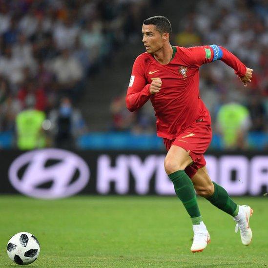 Cristiano Ronaldo realizó más sprints y a mayor velocidad que Messi.