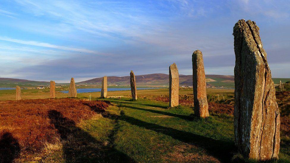 موقع أثري في اسكتلندا