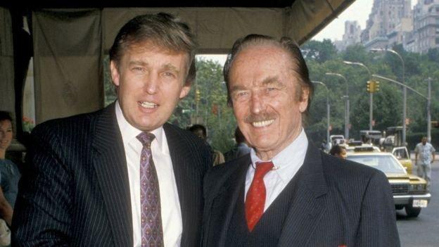 唐納德和父親老弗雷德