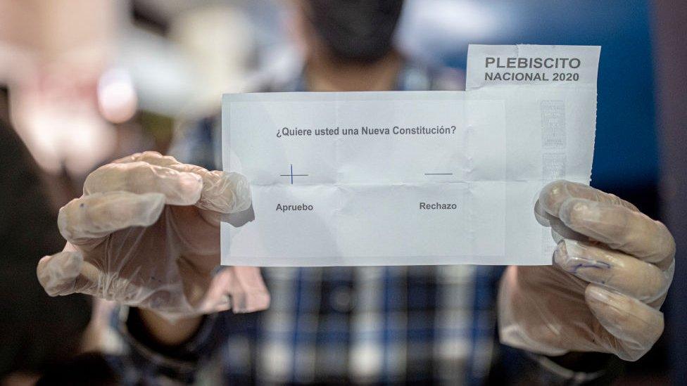 Voto por el cambio de Constitución