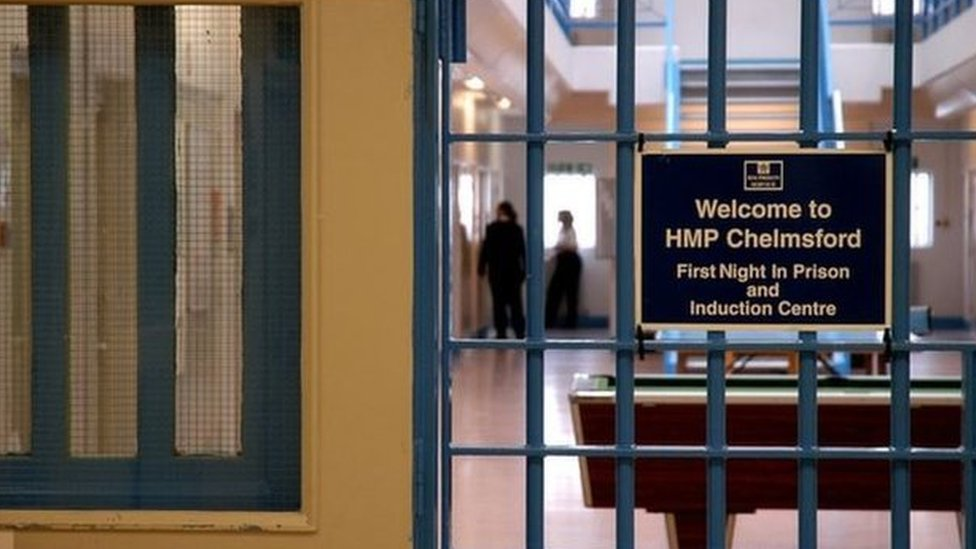 'Clearly dead' HMP Chelmsford prisoner given CPR