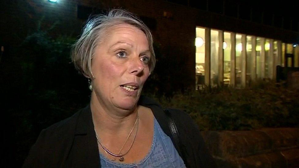 Louise Regan, chair of the Nottingham East Labour Party