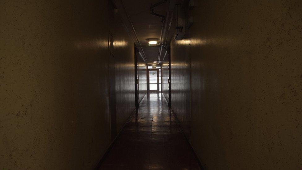 Brooke House corridor