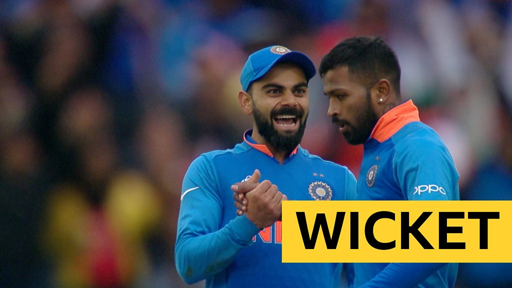 Cricket World Cup: Hardik Pandya takes two in two as Pakistan collapse against India