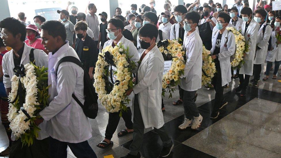 pemakaman korban penembakan, kudeta, militar, Myanmar