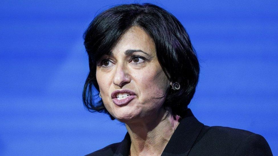 Rochelle Walensky, nomeada pelo presidente Joe Biden para dirigir os Centros de Controle e Prevenção de Doenças (CDC) dos Estados Unidos
