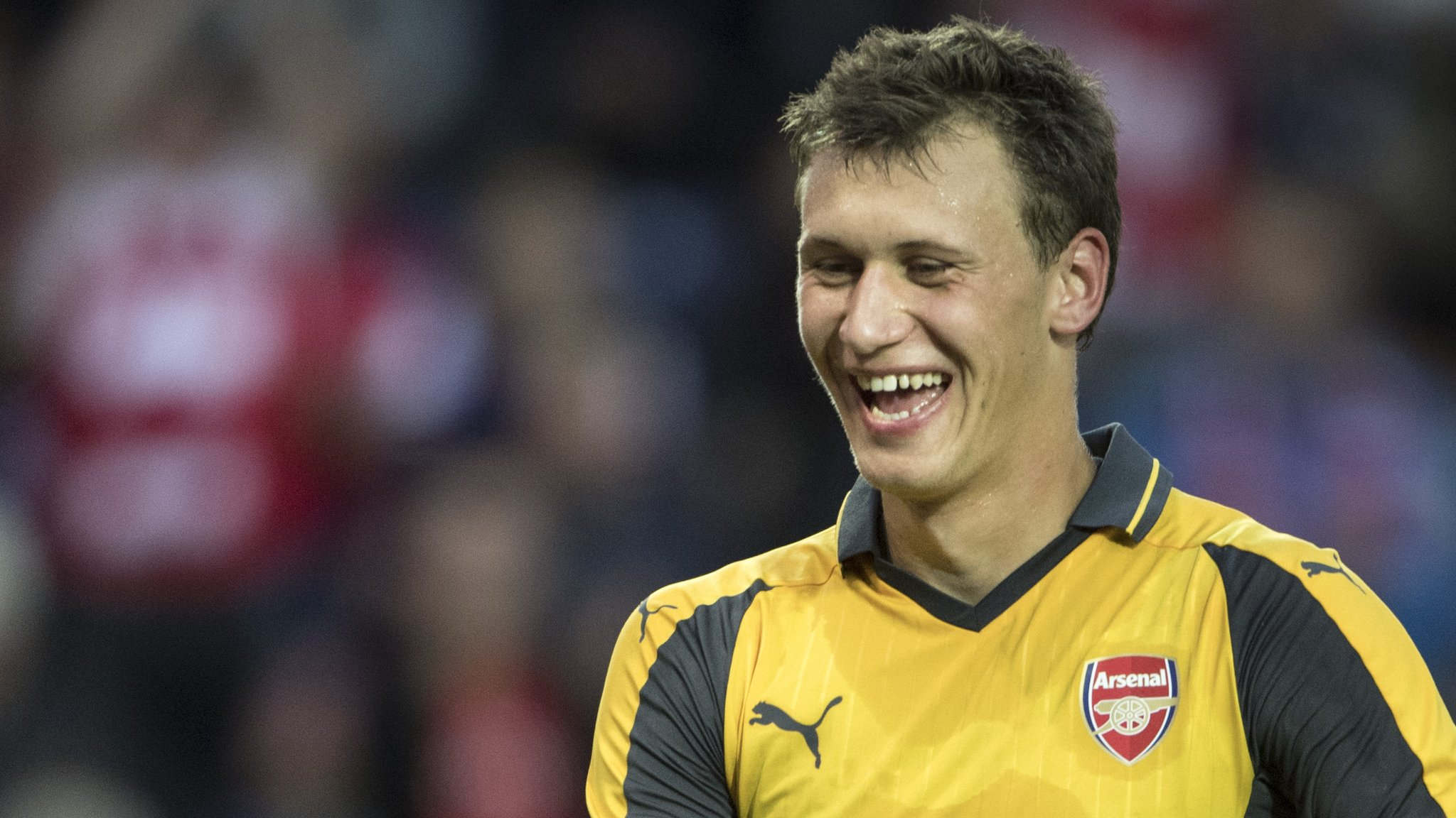 Krystian Bielik: Charlton Athletic sign Arsenal midfielder on loan