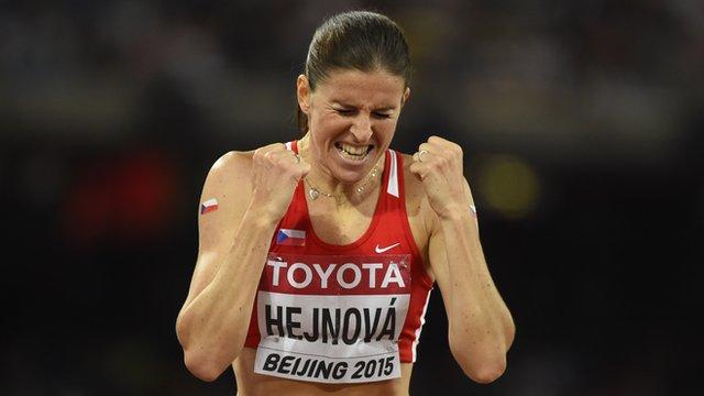 Czech Republic's Zuzana Hejnova