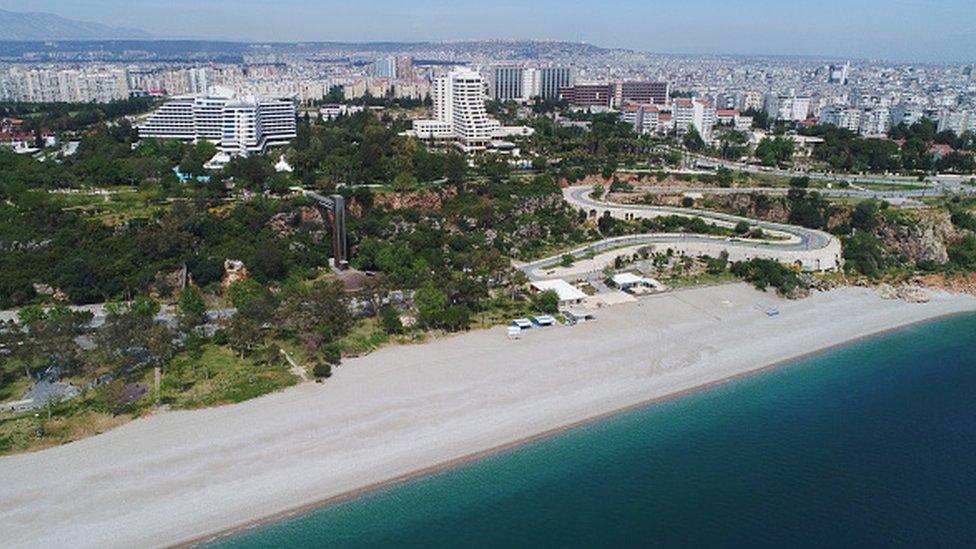 Antalya sahili