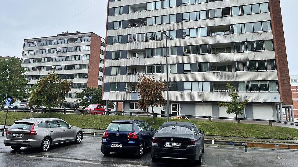 Edificio en Estocolmo