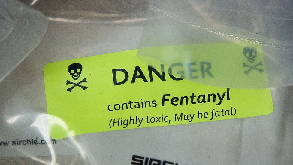 Record US fentanyl bust 'enough to kill 26 million people'