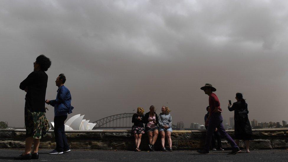 Turisti u Sidneju