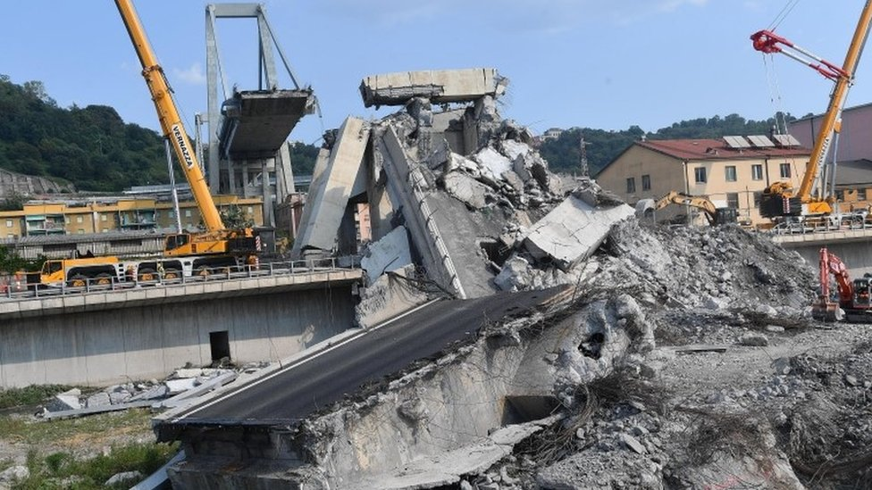 Italy bridge collapse: Genoa death toll rises to 43