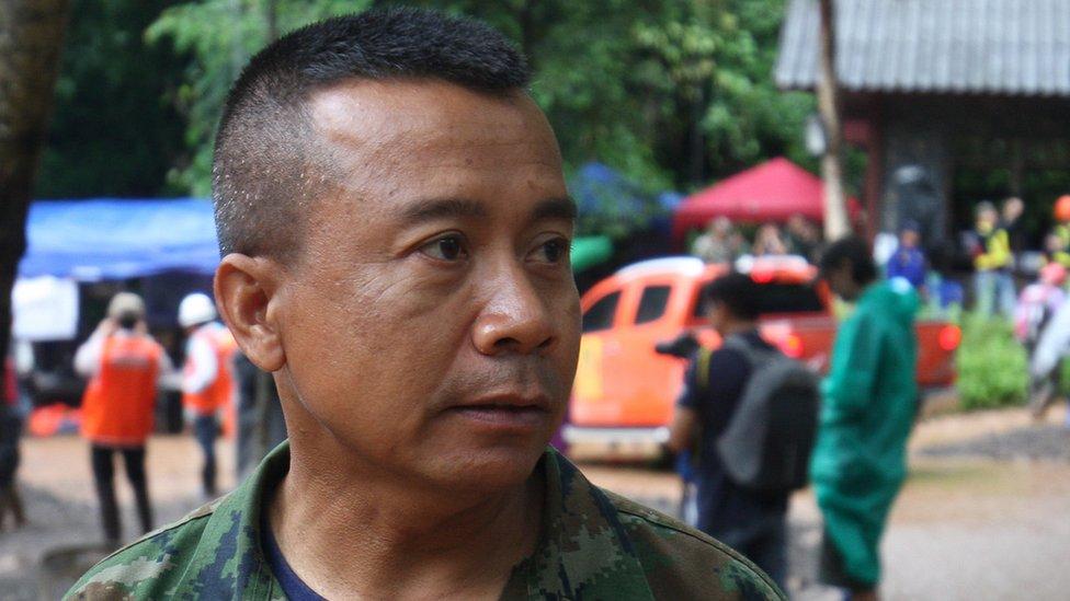 Comandante Apakorn Yookongkaew de los Navy Seals de Tailandia.